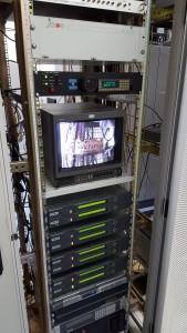 De diverse digitale encoders en apparatuur van PI6ATV.